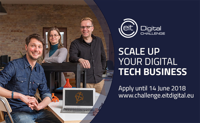 L'EIT Digital Challenge: Inscriptions du 16 avril au 14 juin 2018 | FrenchWeb.fr